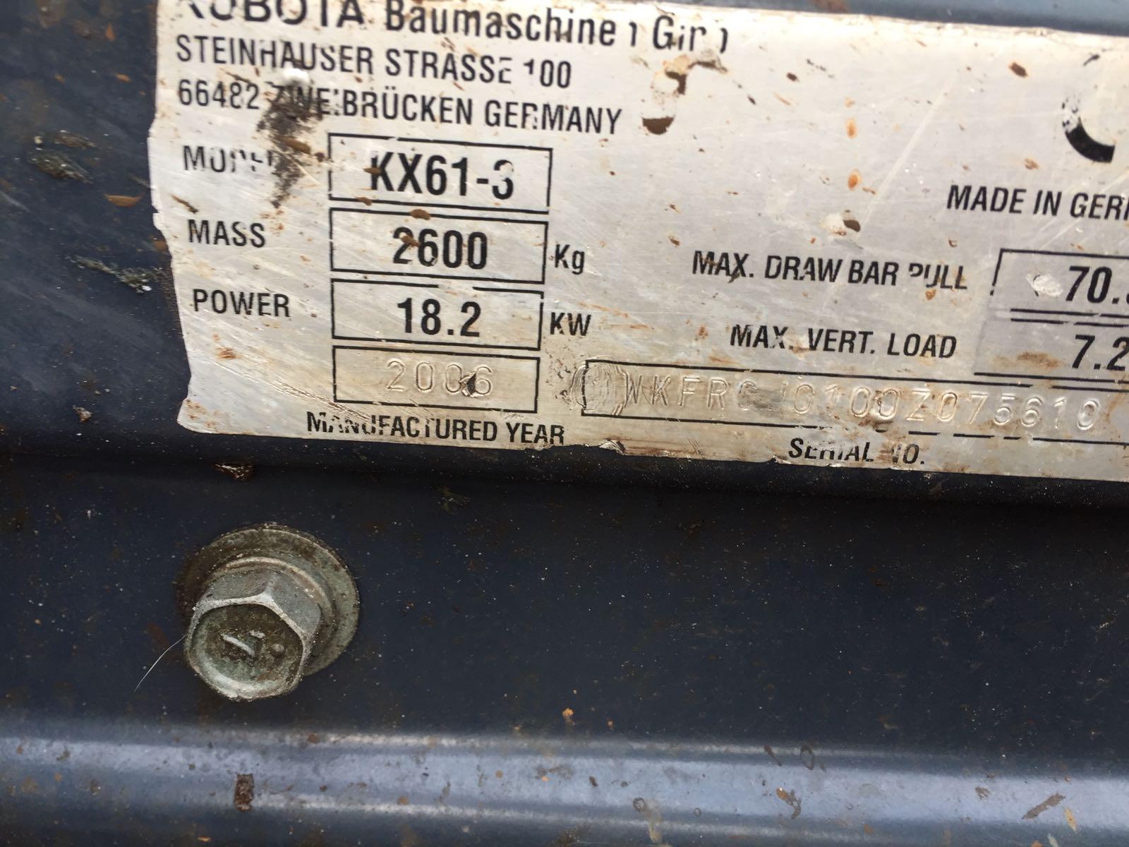 kubota kx61 (1)