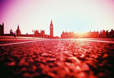 Westminster in deep red