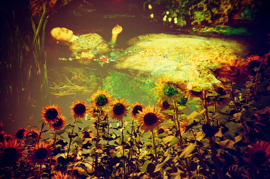 Ophelia in summer