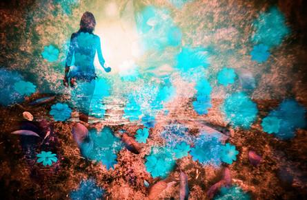 黄昏の浜辺 -the ebb and flow inside