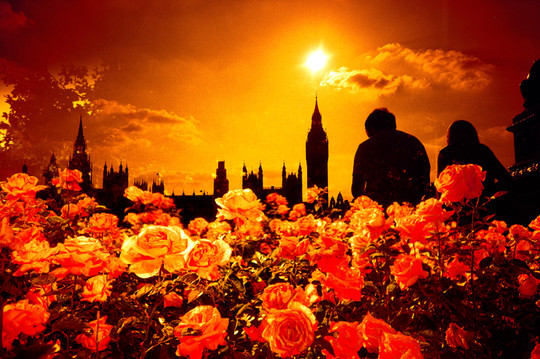 Sunset in Westminster