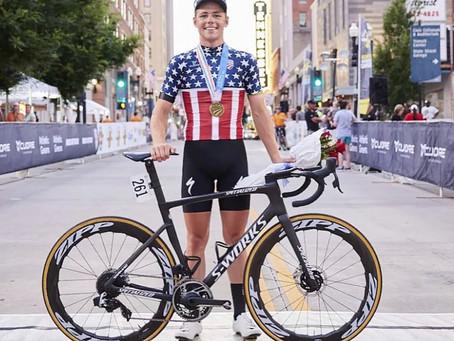 Luke LAMPERTI : Champion des Etats-Unis...