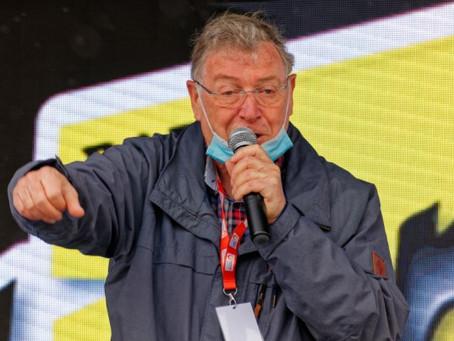 Ouverture de la course avec Hervé MANGEAS