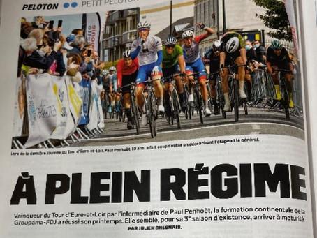 Le TEL dans Vélo Magazine