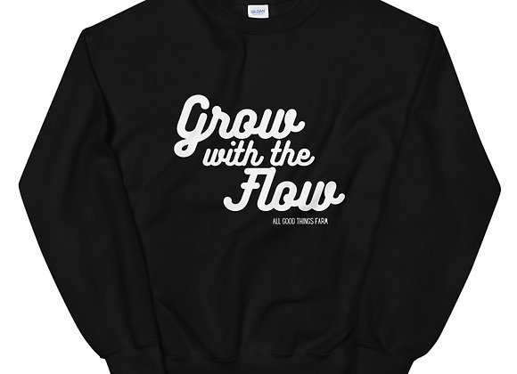 Grow with the Flow Unisex Sweatshirt