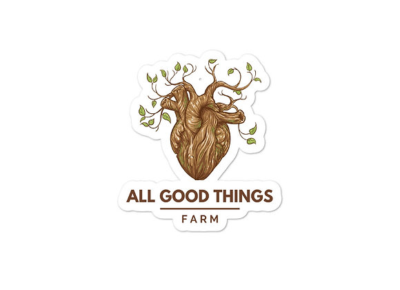 All Good Things Farm Stickers