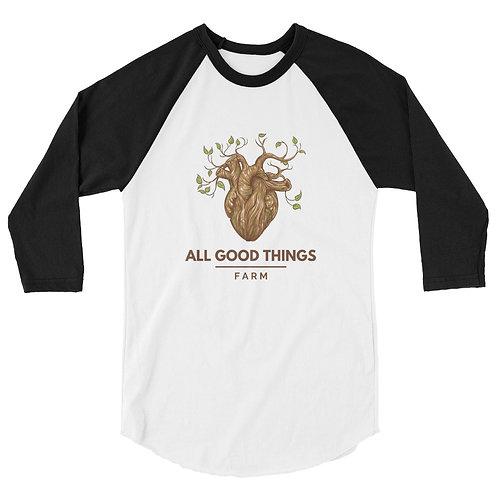 All Good Things Farm 3/4 Sleeve Shirt