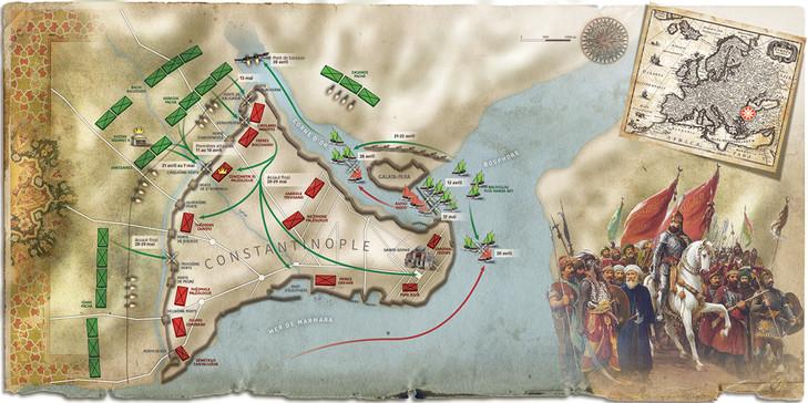 Le Siege de Constantinople