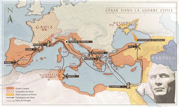 César dans la guerre civile