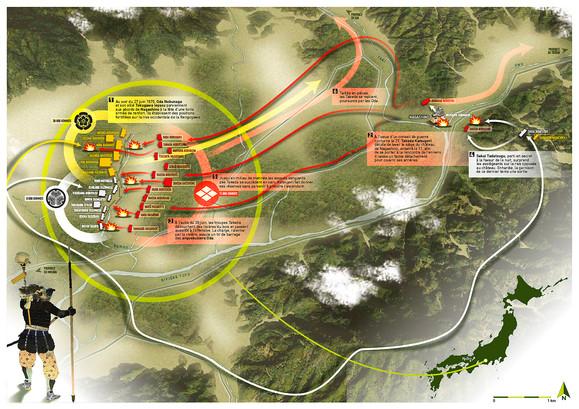 La bataille de Nagashino