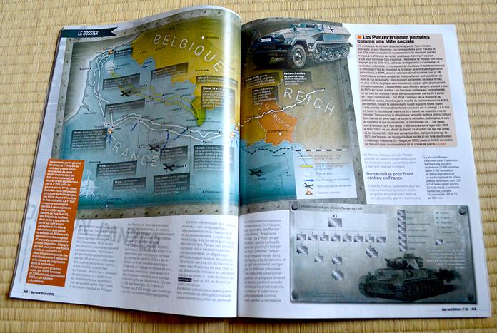 Itinéraire d'une division Panzer