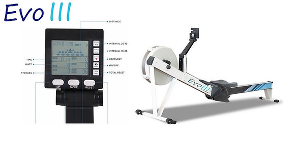 VERY LIMITED STOCK LEFT PRE - ORDER FOR JANUARY - THE NEW EVO III ROWING MACHINE