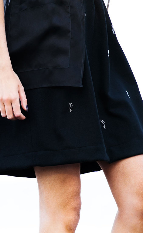 Rectangle Skirt Embroidery