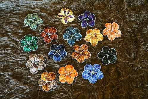 Broche Orchid