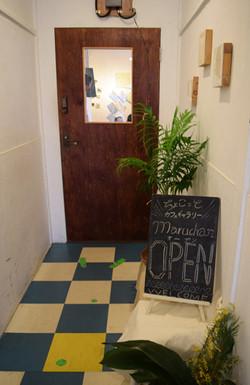 カフェ 入口