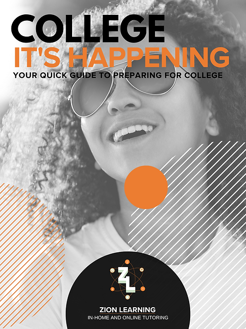 Zion Learning College Prep Booklet
