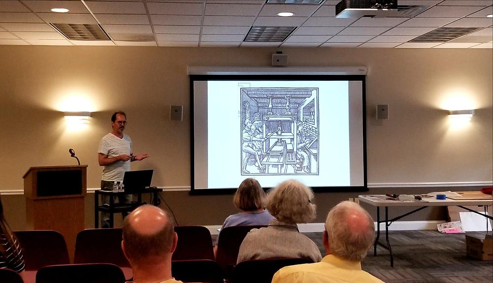 Earlier history of printmaking