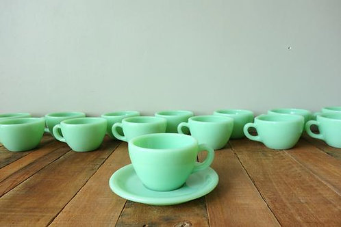 Vintage Coffee And Espresso Cups