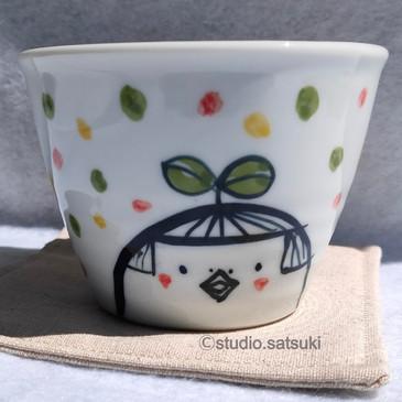 フリーカップ 「太陽とムー」