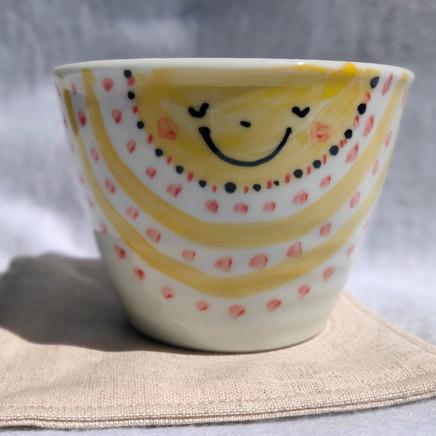 フリーカップ | 女の子と太陽