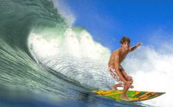 Montagem - Fingindo ser Surfista