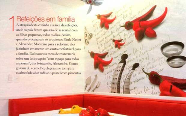Cozinha Pimentas - Casa Claudia