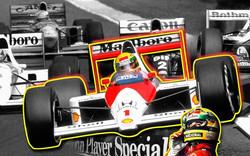 Painel Parede Ayrton Senna