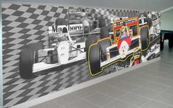 Painel Ayrton Senna - Local