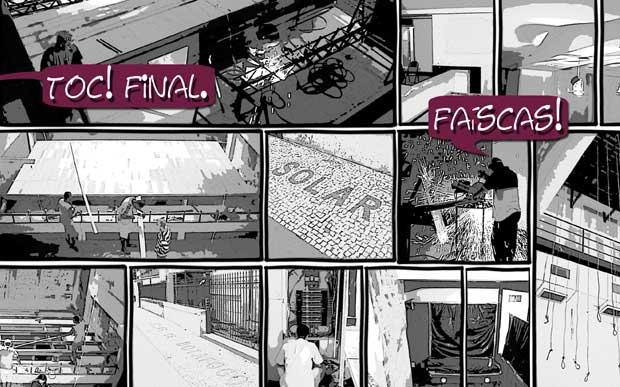Solar Botafogo Quadrinhos Obra