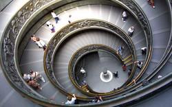 Escadaria no Vaticano, Roma
