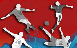 Painel Ases do Futebol - Red