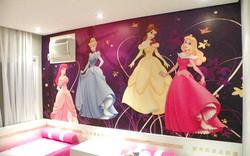 Painel Princesas Colocado