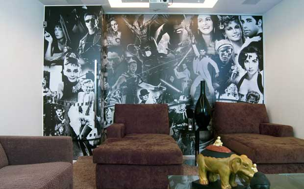 Painel Home Theater - Local