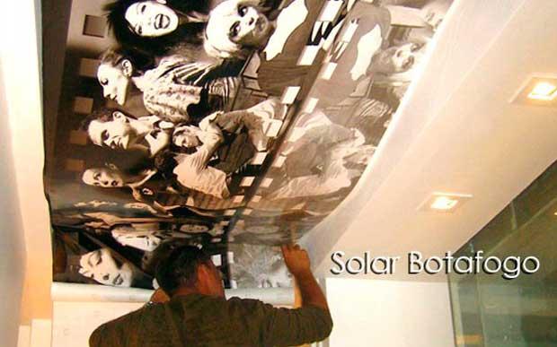Solar Botafogo - teto Banheiro