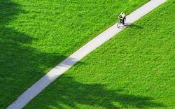 Uma Bike em Salzburg