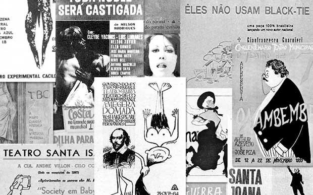 Solar Botafogo - Cartazes Teatro