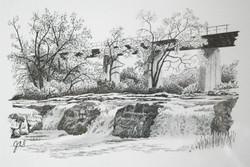 Falls Sketch 3