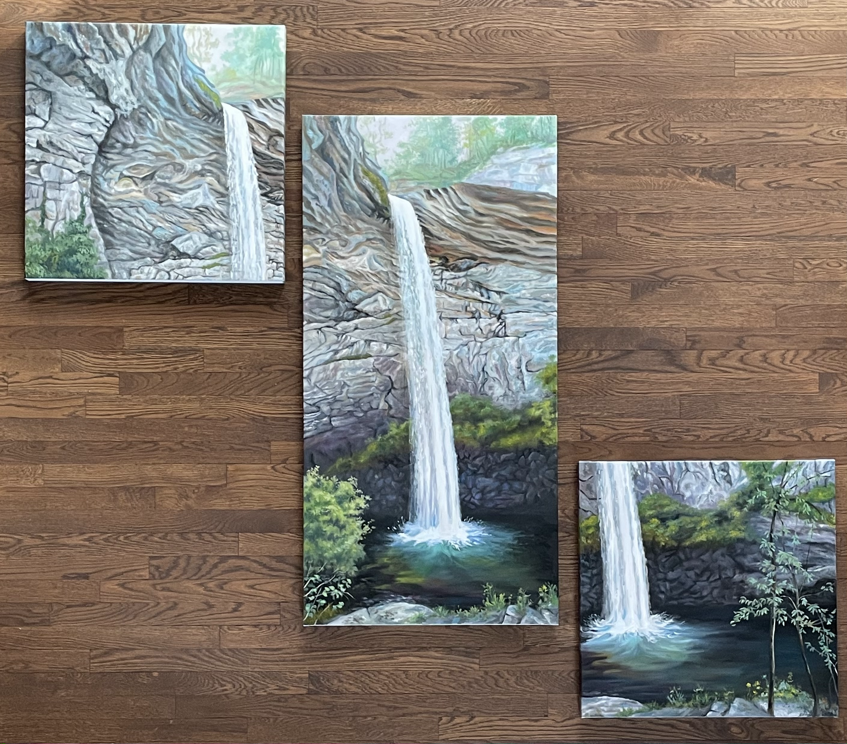 Ozone Falls TN Triptych