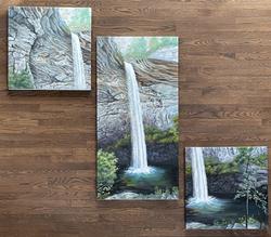 Ozone Falls Triptych