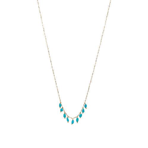 BELLA Vermeil Turquoises