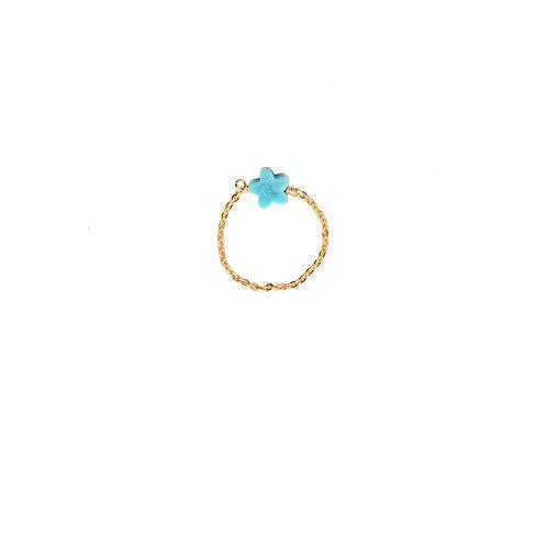 Eden Or Etoile Turquoise