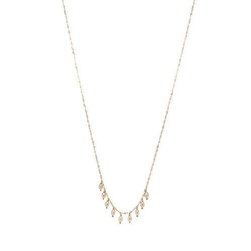 BELLA Vermeil perles blanches