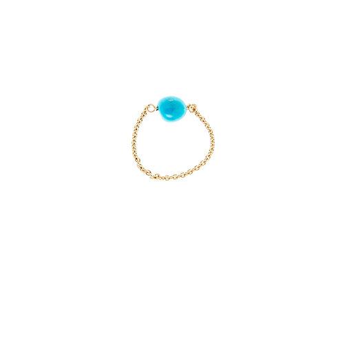 Eden Vermeil Turquoise