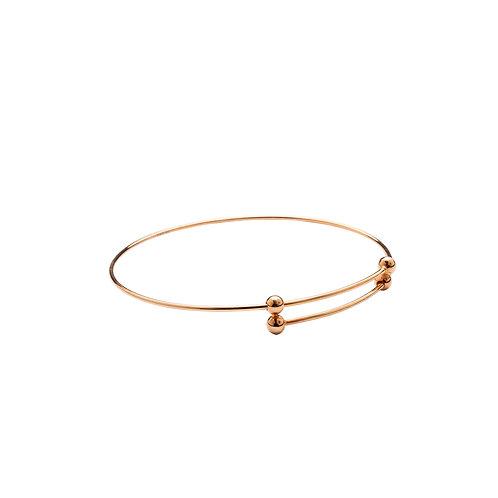 Bracelet de bras Vermeil rose