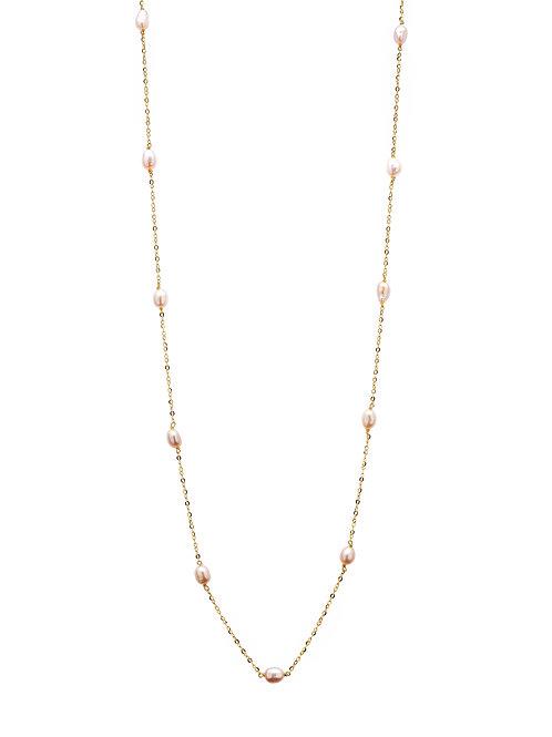 Océanne Vermeil perles roses
