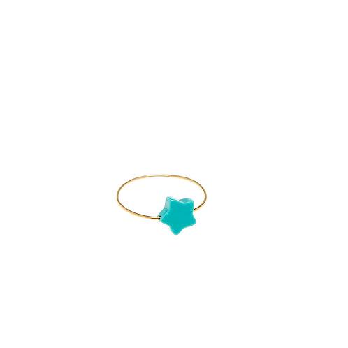 Marine Or Turquoise étoile
