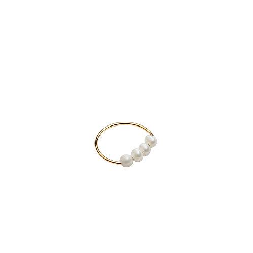 Marine Or Mini perles blanches