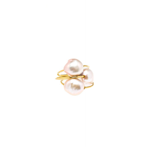 Cristal Or perle rose
