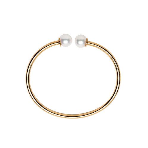 Bracelet Fanny Vermeil perle blanche
