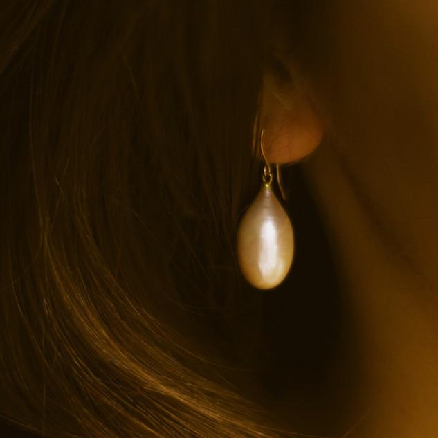 Boucles d'oreille Or LUANA